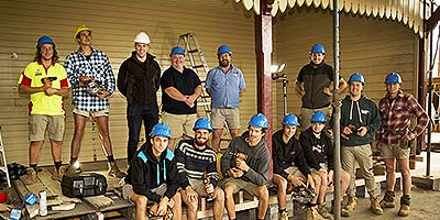 Chisholm Institute builders