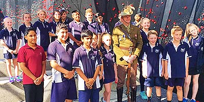 Spirit of ANZAC trip